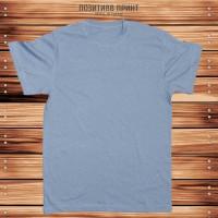 Синяя (джинсовая) мужская футболка