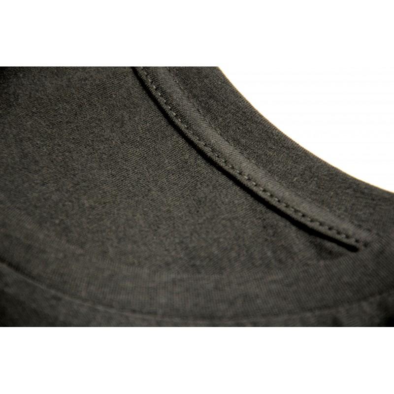 Черная женская футболка (без нанесения)